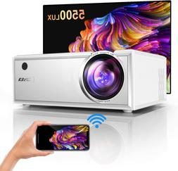 YABER Y61 WiFi Mini Projector 5500 Lux Full HD 1080P And 200