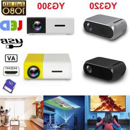 YG300/320 Portable Multimedia Mini 1080P LED Projector Home