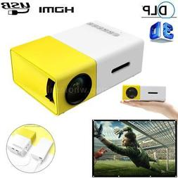 YG300 HD 1080P LED Mini Projector USB SD Home Theater Cinema