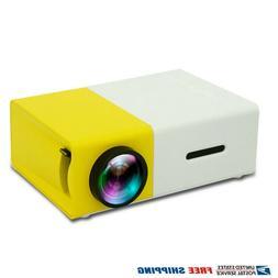 YG300 Mini LED Projector Portable HD 1080P Home Theater Cine