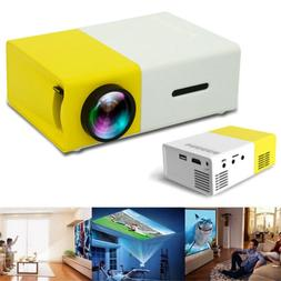YG300 Mini Multimedia LED LCD Projector Full HD 1080P Home T