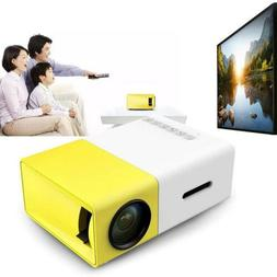 YG300 Mini Pocket LED Projector 1080P Home Theater Cinema Mu