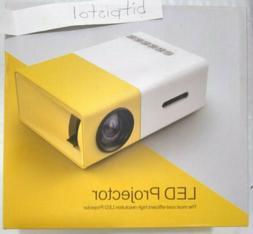 yg300 mini portable led video projector av