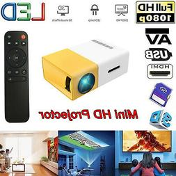 YG300 Mini Portable Multimedia LED Projector Full HD 1080P o