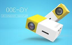 DSstyles YG300 Mini LCD LED Projector 400-600LM 1080P Video