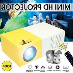 YG300 Portable Mini 1080P Home Theater Cinema USB HDMI AV SD