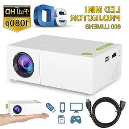 YG310 Portable Mini Projector HD 1080P Home Theater Cinema V