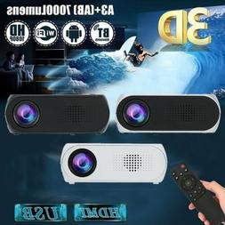 YG320 Portable Mini 1080P 3D WIFI LED Projector Home Theater