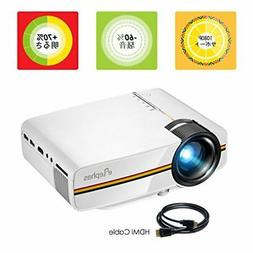 ELEPHAS YG400 Mini LED Video Projector 1500 Lumens 1080P  Ja