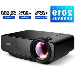 "RAGU Z400 Mini Projector, 2018 Upgraded  180"" 1080P HD Home."