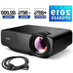 Z400 Mini Projector 2019 Upgraded Full HD 1080P 180 Inch Dis