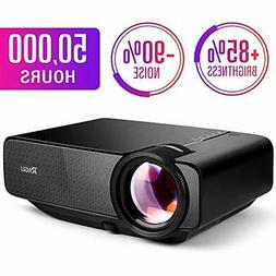 "RAGU Z400 Mini Projector,2019 Upgraded Full HD 1080P 180"" Di"