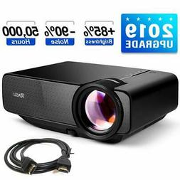 "RAGU Z400 Mini Projector 2019 Upgraded Full HD 1080P 180"" Di"