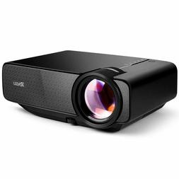 RAGU Z400 Mini Projector, Multimedia Home Theater Video Proj