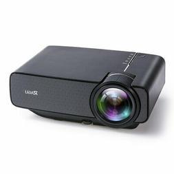 RAGU Z400 Mini Projector, Multimedia Home Theater Video Proj