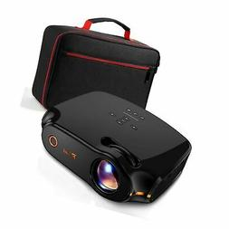 "RAGU Z498 Mini Projector, 2019 Upgraded Full HD 1080P 180"" D"